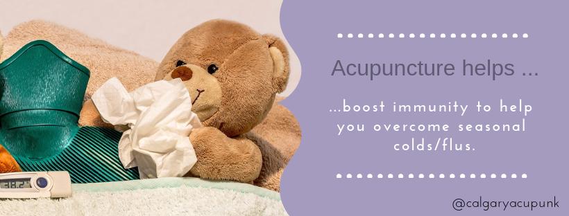 acupuncture boosts immunity