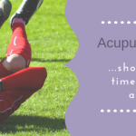 Acupuncture for Strains and Sprains