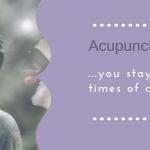 Acupuncture Relieves Chronic Stress